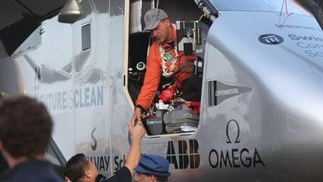 Solar Plane lands in Hawaii after longest non-stop solo flight in history   Oven Fresh   Scoop.it