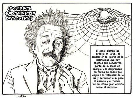 Fotogalería: Las ondas gravitacionales, explicadas en viñetas | Biología de Cosas de Ciencias | Scoop.it