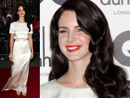 Lana Del Rey's new black hair at GQ Men Of The Year Awards 2012 | Sugarscape | Fashion Deals Now | Scoop.it