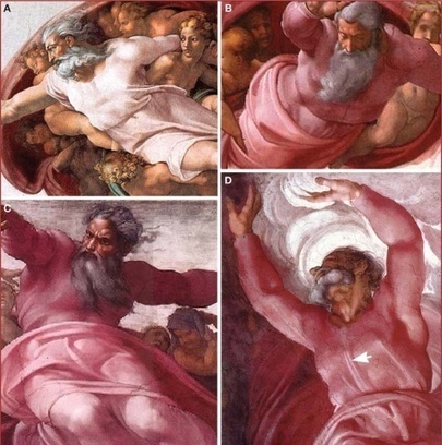 Neurologists Discover Michelangelo's Paintings Of God With A Brain | Lazer, Ambiente e Saúde | Scoop.it