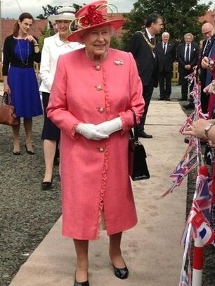 Queen visited North Edinburgh today | Today's Edinburgh News | Scoop.it