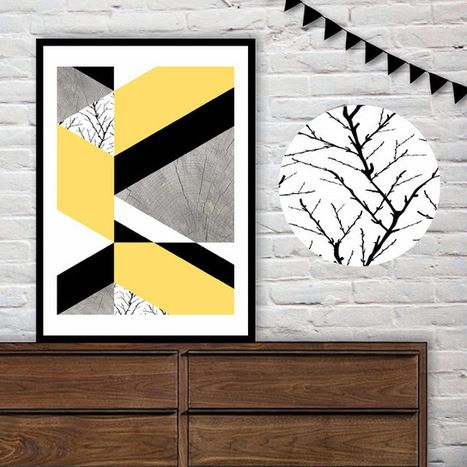 Cushion Spot: Geometric art prints by May and Belle | homedecor | Scoop.it