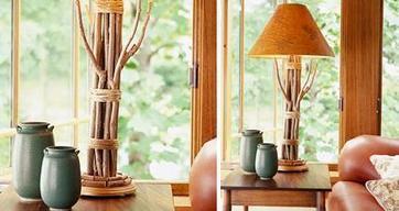 Una lámpara muy rústica - Las Manualidades | lámparas | Scoop.it