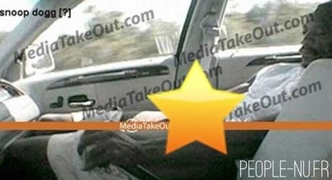 Photo : Snoop Dogg nu en érection dans sa voiture ! | Radio Planète-Eléa | Scoop.it
