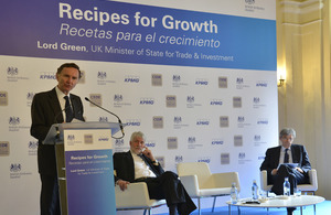 UK Trade & Investment Minister Lord Green spells out recipe for economic growth in Europe | AC Affairs | Scoop.it