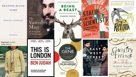 Longlist announced for The 2016 Baillie Gifford Prize for Non-Fiction  | Bibliobibuli | Scoop.it