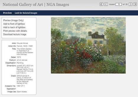 35 000 œuvres d'art à télécharger, NGA Images | Les Infos de Ballajack | Divers | Scoop.it