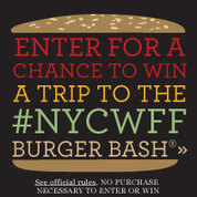 Enter for a chance to win a trip to the #NYCWFF Burger Bash® | Cake decorating | Scoop.it