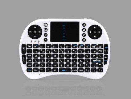 Wireless 2.4GHz Multi-media Portable Handheld Mini Keyboard with Touchpad Mouse - White - Electronics | Electronic Stores in Mississauga - electronics parts mississauga | Scoop.it