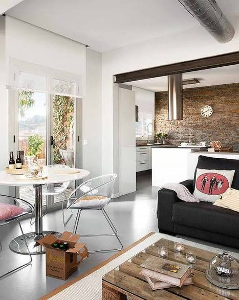 Un loft avec vue sur le ciel | | PLANETE DECO a homes worldPLANETE DECO a homes world | Immobilier | Scoop.it