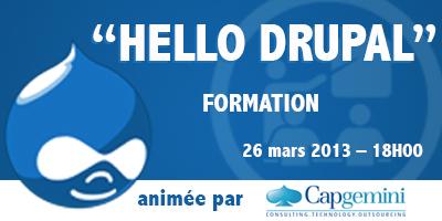"""Formation """"Hello Drupal"""" le 26 mars 2013 dès 18H00 à La Cantine Toulouse   La Cantine Toulouse   Scoop.it"""