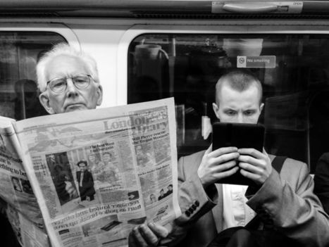 20 years ago, experts predicted newspapers might some day come on a 'book-sized receiver' | Multimedia Journalism | Scoop.it