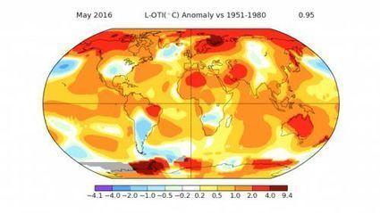 La routine du réchauffement : mai 2016 a lui aussi battu un record | Développement durable et efficacité énergétique | Scoop.it
