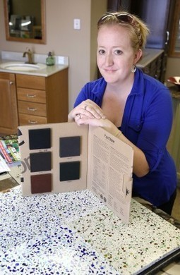 Cork, recycled glass part of eco-conscious interior design - Sioux City Journal | Home Centrl interiors | Scoop.it