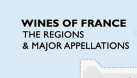 Metro Wine Map of France   Alcoholic Beverages   Scoop.it