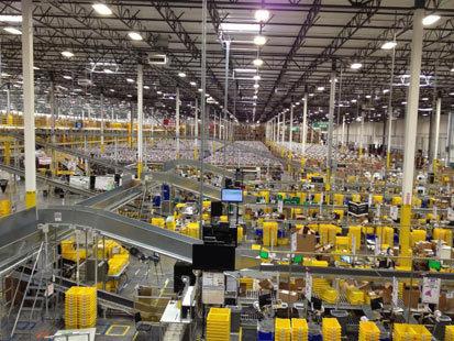 Inside Amazon's Mega Warehouse | Social Customer Analytics | Scoop.it