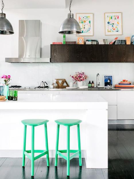 12 mẫu phòng bếp với tranh nghệ thuật | Noi that | Scoop.it