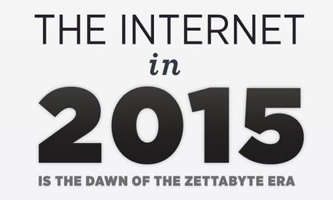 Internet nel 2015 - L'alba dell'era del Zettabyte - ICT Academy | IT, Certificazioni e nuove professioni e curiosità (geek life~ | Scoop.it