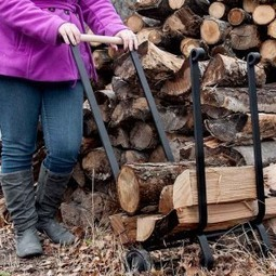 Winter Is Here – Don't Let a Trip To Your Wood Pile Result In Injury – Get A Firewood Cart Today! | Firewood Carts | Scoop.it