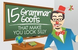 15 Grammar Goofs That Make You Look Silly | Copyblogger | ClioELA | Scoop.it
