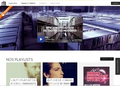 Radio France investit la musique en ligne avec RF8 - France Info   Radio 2.0 (En & Fr)   Scoop.it