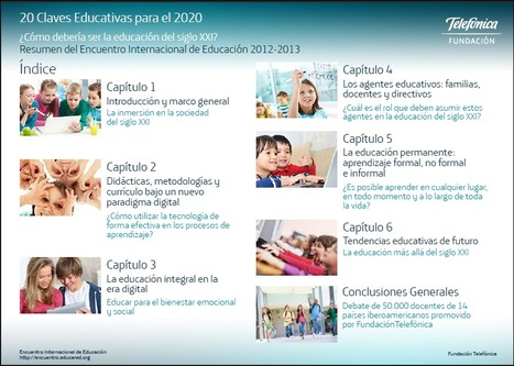 Claves educativas para el 2020... | IPAD, un nuevo concepto socio-educativo! | Scoop.it