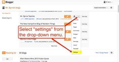 How to Post to Blogger via Email | Time to Learn | Scoop.it