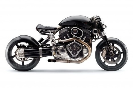 Confederate Motorcycles X132 Hellcat | Custom Motorcyle | Moto ... | Autos F1 | Scoop.it