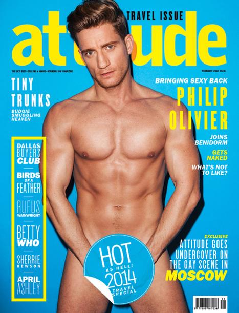 Philip Olivier nudo su Attitude - JHP by Jimi Paradise™ | JIMIPARADISE! | Scoop.it