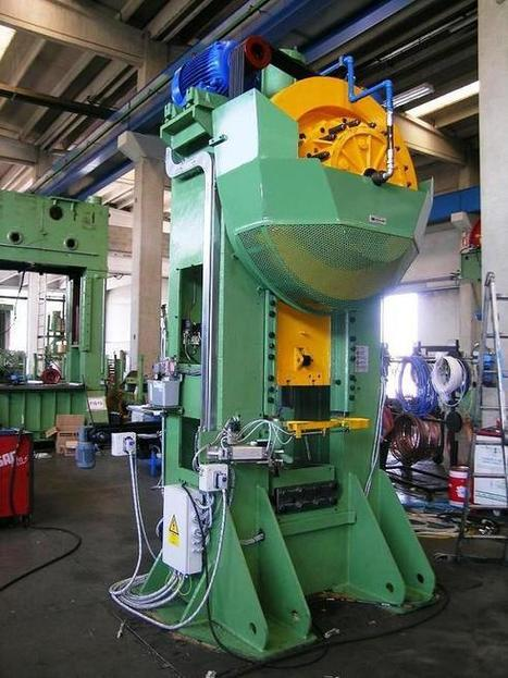 Occasion mechanical forging press Mecolpress SOV/3 300 tons | Automations | Hot forging | Cold forming | Scoop.it