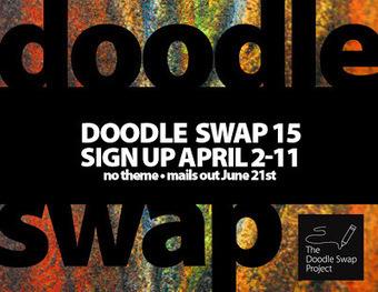 Doodle Swap 15 Now Registering! | My visual talk | Scoop.it