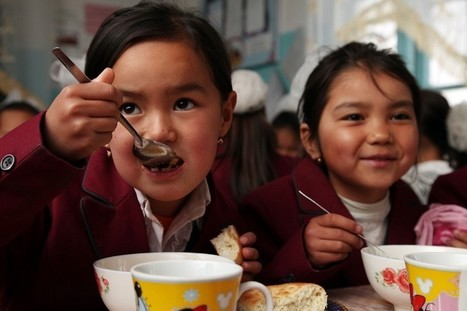 Back to School: In Kyrgyzstan's Mountains, School Meals Reach New Heights – Medium | IELTS, ESP, EAP and CALL | Scoop.it