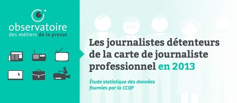 Portrait-robot du journaliste : la féminisation de la profession se poursuit... | Emploi Métiers Presse Ecriture Design | Scoop.it