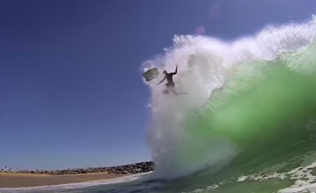 Brilliant GoPro Mashup from 178 clips as Rorshach Test