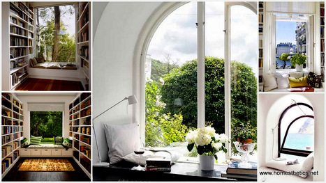 Top 27 Cozy Reading Nooks That Will Inspire You To Design One for Yourself In Your Home | Homesthetics | Scoop.it