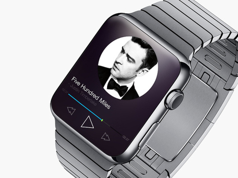 15 Latest App Concepts for Apple Watch | New Technology | Scoop.it