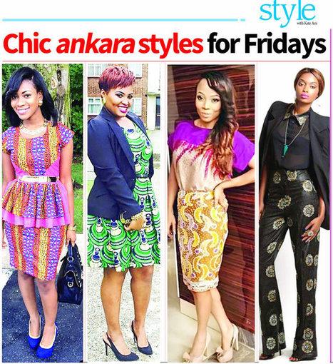 Chic ankara styles for Fridays - Nigerian Tribune | art contemporain africain | Scoop.it