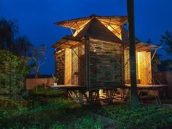 Affordable bamboo house that floats when it floods, revisited - Treehugger | New age bamboo solutions | Scoop.it