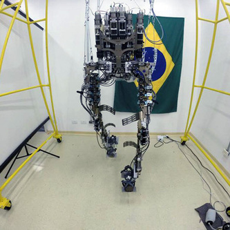 Project Plans Brain-Control Exoskeleton Kickoff for the 2014 World Cup | MIT Technology Review | Cyborg Lives | Scoop.it