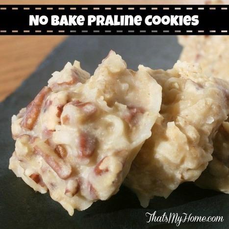 No Bake Praline Cookies - Recipes, Food and Cooking   Food   Scoop.it