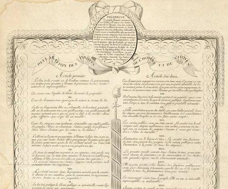 Déclaration des droits de l'homme et du citoyen : décrétés par l'Assemblée nationale durant les séances des 20, 21, 25 et 26 août 1789, et approuvés par le roi - Bibliothèque numérique mondiale   Référent numérique   Scoop.it