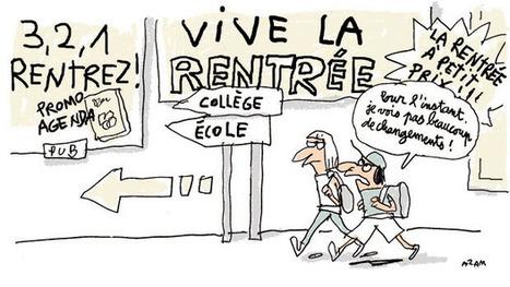 Les changements de la rentrée des classes expliqués aux enfants | 1jour1actu - Les clés de l'actualité junior | Français 4H | Scoop.it