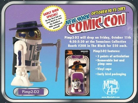 Pimp2-D2 Action Figure [Pic]   All Geeks   Scoop.it