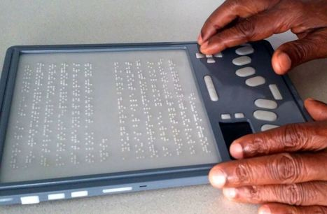 Bientôt la première tablette tactile en braille! | marketing stratégique du web mobile | Scoop.it