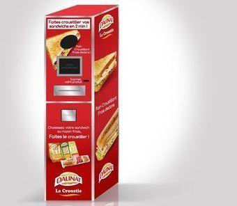 Daunat invente la machine à faire croustiller les sandwichs | Sandwiches | Scoop.it