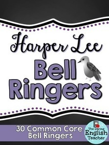 Harper Lee Common Core Bell Ringers - To Kill a Mockingbird | Common Core:  Citing Textual Evidence | Scoop.it
