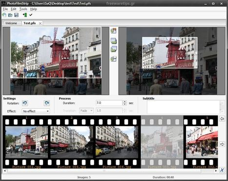 PhotoFilmStrip - Δημιουργία ψηφιακών άλμπουμ | Freeware Tips | Scoop.it