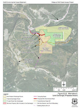 Forest Service delays final decision on controversial Wolf Creek land trade and development scheme | GarryRogers Biosphere News | Scoop.it