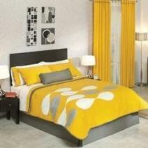 Yellow Bedding Sets and Comforters | Bedroom Design Ideas | Scoop.it