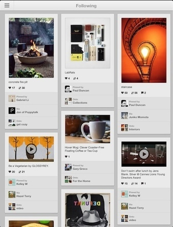The Real Pinterest comes to the iPad with Version 2.0 | iGo With My iPad | 21st Century Concepts-Technology in the Classroom | Scoop.it